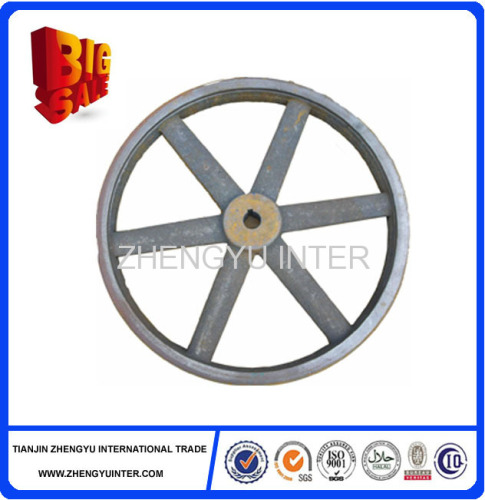 OEM custom cast iron pulley wheel