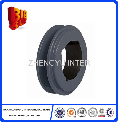 Ductile iron U groove pulleys casting parts