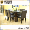 Banquet dining table and chair