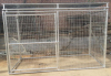 Top Roof Large Welded Mesh Dog Kennel