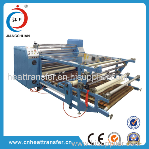 rotary heat press machine for fabric automatic
