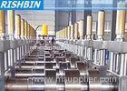 10 - 26 mm Punching Holes Cold Roll Forming Machine 18 Roll Stations 700mm