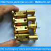 custom making precision brass parts by cnc machining in China