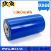 ER26500 lithium battery c size 3.6v 9000mAh primary bateria for Automatic meter reading