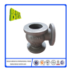 Lost foam cast iron ball valve body casting parts