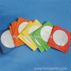 Colorful corrugated board dvd paper bag for cd dvd packaging