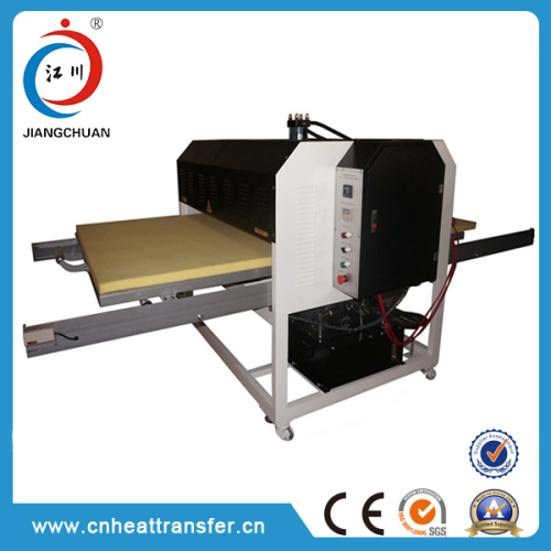 Hydraulic Double Stations Heat Transfer Press Machine for Sale