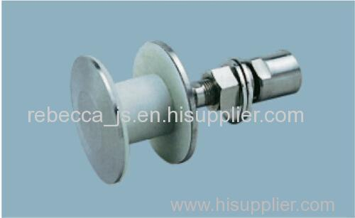 Stainless steel routel for point-fixed glass curtain wall