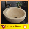 Professional Honey beige marble wash sink