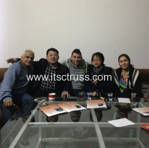 Luis' family starts cooperate with us