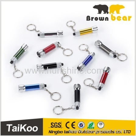 5 led multicolor keychain led flashlight wholesale