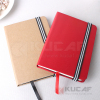 A5 kraft paper hardcover notebooks