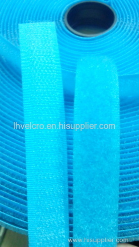 Polyester and Nylon Hook and loop Velcro