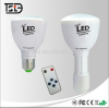rechargeable LED emergency bulb light camping light alarm light 4W remote control bulb flashing torch lamp night light