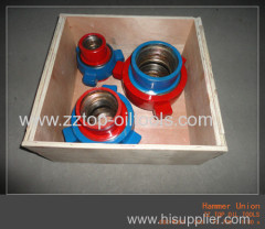 Wellhead High pressure hammer union
