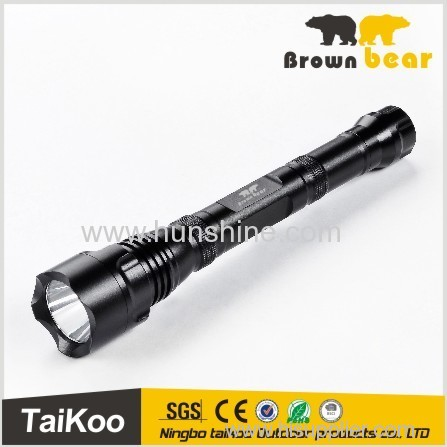 high power aluminum t6 led flashlight