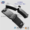 Train Brake Shoe Technical Data/Manufacturer of Locomotive Brake block/Composite Railway Brake Pad made in China