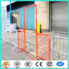 Hot-dipped galvanized temporary pedestrian orange barricade paypal
