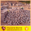 China natural red granite paving stone pattern cube stone