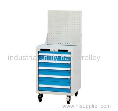 Utility tool cart workshop troley with hanging plate hand truck