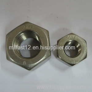 Hex Nuts DIN934 Carbon steel,