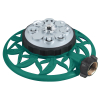 8-Pattern Metal Turret Water Lawn Sprinkler
