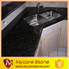 Good price black galaxy kitchen top, bathroom top