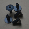 Cable wall bushing grommet 7.00 mm for RG6 in black