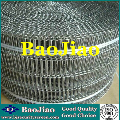 Stainless Steel Flat-Flex Conveyor Belts for Food Industry/Chemical Industry