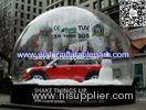 Snow Globe Inflatable Bubble Tent Trade Show , Adverting Transparent Bubble Dome Tent