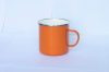 Enamel Mug Carton Steel with Enamel Coating Co Lid