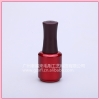 UV nail gel polish use glass bottle with cap and flat brush