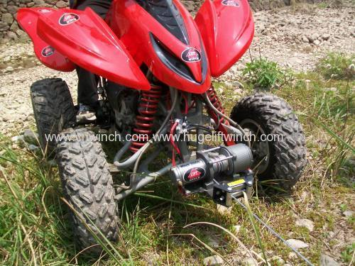 UTV Winch with synthetic rope 4000lbs