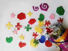 hot sell and lovely animal EVA Foam Sticker flower animal