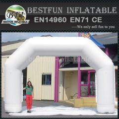 Customized inflatable archways with logo print