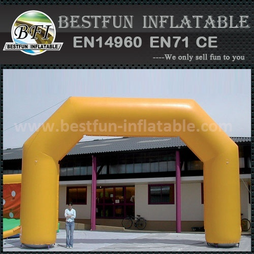 Outdoor giant inflatable standard arch