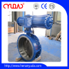 Flange type pneumatic actuator control butterfly valve