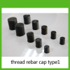 thread plastic rebar cap