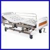 Electric and manual lifting medical hospital bed