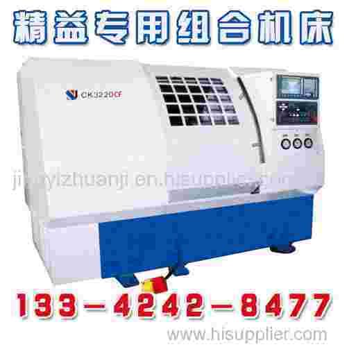Milling face drilling center hole CNC machine tool