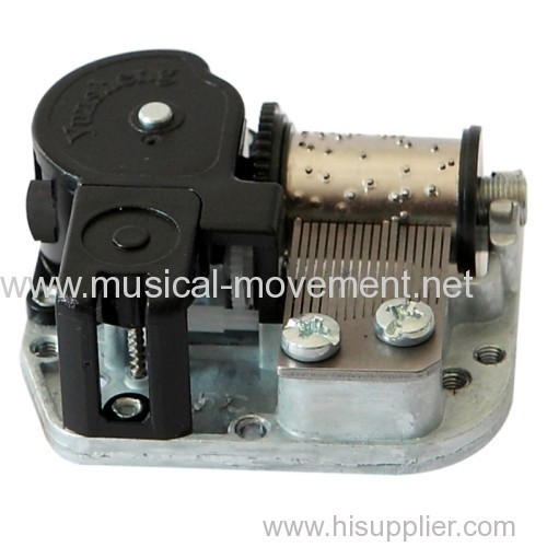 18 NOTE WIND UP MUSIC BOX MECHANISM