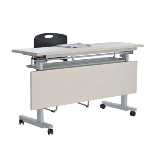 metal classroom office used convinient folding desks with wheels