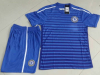 Custom polyester soccer suits with embroidered team logo