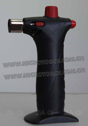 Black Portable Refilled Chef. Burner Cooking Torch