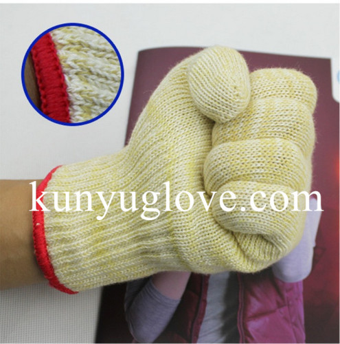 100% aramid Flame & Heat Resistant oven glove
