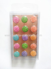 Quality plastic safety push pin,baby plastic safety pin PVC push pins
