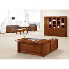 High Quality Executive Desk In Wood Veneer Finish