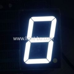45mm (1.8-inch) SIngle digit Common Anode ultra bright White seven segment led displays