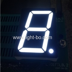 "Common anode Single-digit 1.5"" seven segment WHITE LED Display"