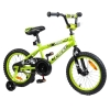 Tauki AMIGO 16 inch Kid Bike With Removable Training Wheels, Coaster Brake, for Boys and Girls, Green
